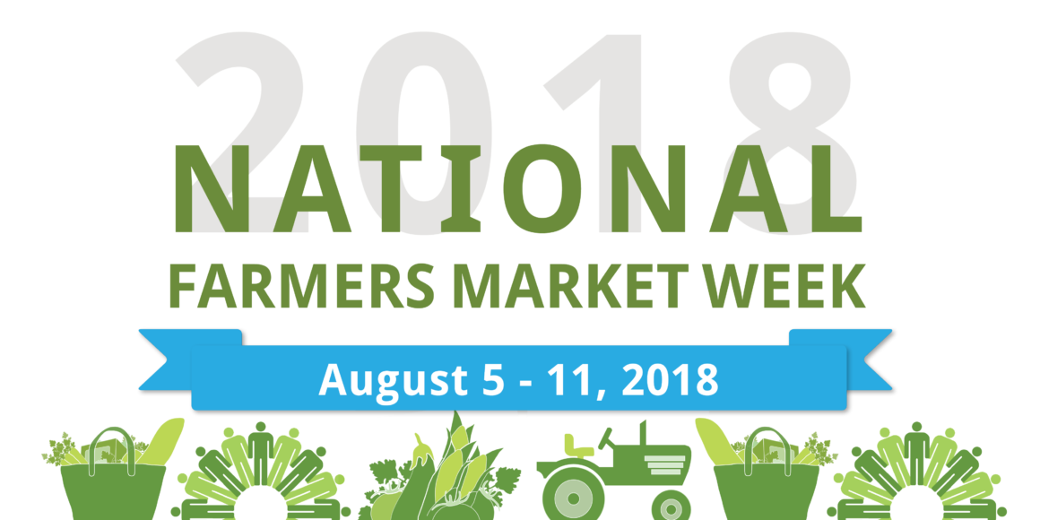 19th Annual National Farmers' Market Week – August 5-11, 2018