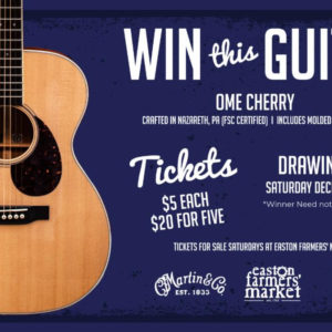 Martin Guitar Raffle Drawing