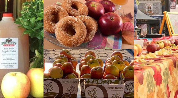 Apple dumplings, pies, fritters, cider donuts, slushies and more
